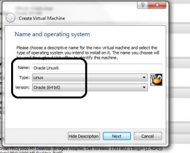 How to create an Oracle Linux vm on virtual box |